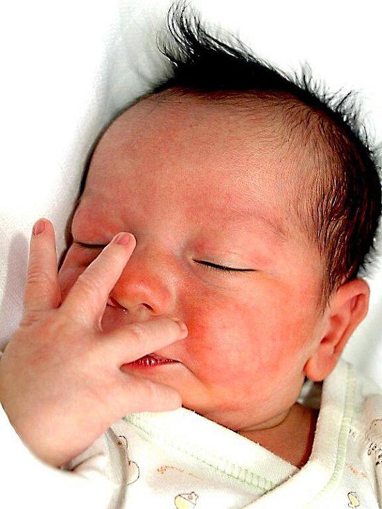 MARIO HORVÁT se narodil v sobotu 22. ledna ve 21.05 hodin. Při narození vážil 3000 gramů a měřil 48 centimetrů. Doma v Chebu se z malého Maria raduje sestřička Debora, maminka Iveta a tatínek Vojtěch.