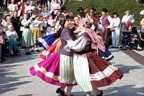 Výběr fotografií z minulých ročník folklorního festivalu Mariánský podzim