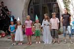 Slavnostní zakončení čtvrtého ročníku letní výtvarné dílny v chebském muzeu