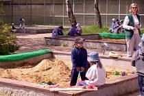 ZAHRADA mateřské školky v chebské ulici Osvobození paří k těm, které nechá město opravit z dotace od Evropské unie.