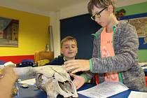 Děti z Domu dětí a mládeže a školní družiny Luby navštívily Muzeum Cheb.