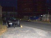 Dopravní nehoda v Milhostově.