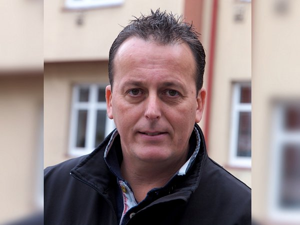 Zbyněk Cajthaml, předseda SK Juventus Cheb.