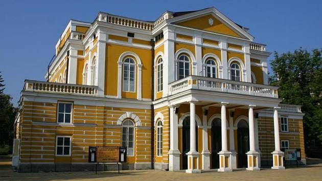 Západočeské divadlo v Chebu.