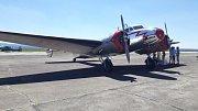 Letecký den v Chebu.