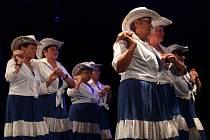 V Chebu v Kulturním centru Svoboda právě probíhá krajské kolo soutěže Babička roku. Soutěží celkem osm babiček v různých disciplínách. Dámy jsou milé, tančí, zpívají, pečou a také si sladkostmi hýčkají šestičlennou porotu.