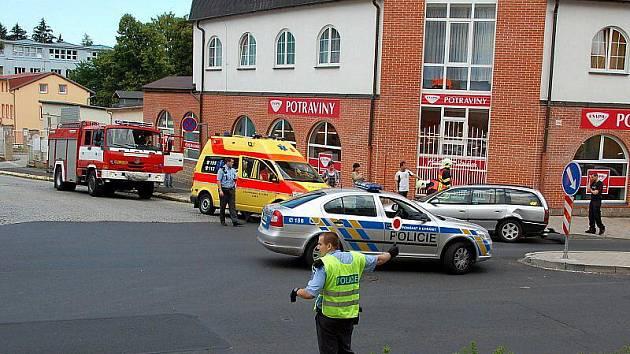 Při autonehodě v Aši se zranilo dítě