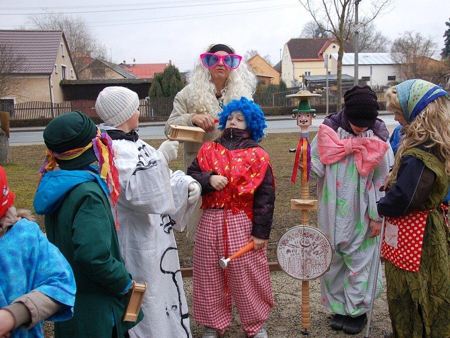 Masopust oslavili také v Drmoule.