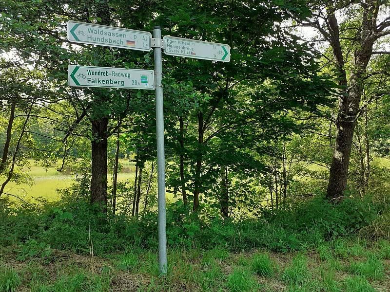 Hraniční přechod Svatý Kříž – Hundsbach je do konce července zavřený.