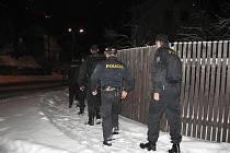 Policisté šli po drogách a také po popíjení mladistvých.
