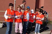 Akce Jezdíme s úsměvem se zúčastnily děti ze 3. ZŠ v Chebu