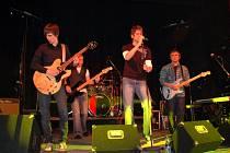 Koncert skupiny One Night Band v Produkčním centru Kamenná Cheb
