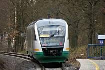 Mezinárodní motorový vlak Desiro.