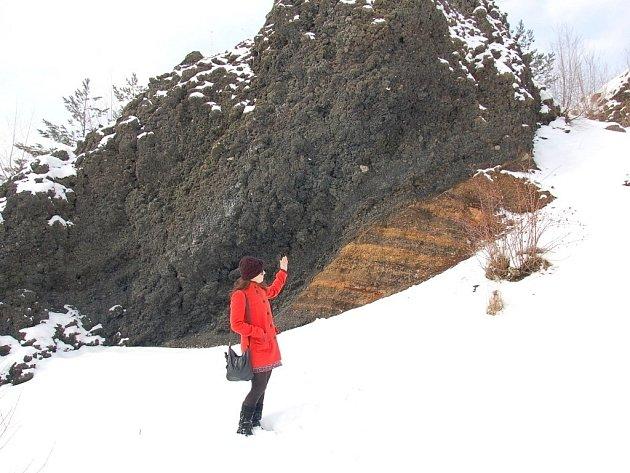 Vyhaslá sopka Železná hůrka u Chebu.