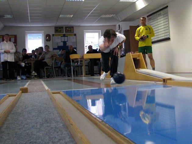 Kuželkový turnaj strojvůdců v Hazlově