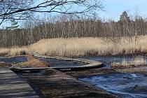 O víkendu bylo v přírodní rezervaci SOOS liduprázdno.