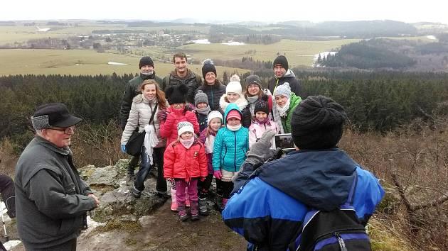 Turisté si na Nový rok vyšlápli na Podhoru.