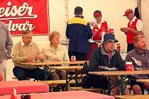 Pivní slavnosti v Mariánských Lázních přilákaly několik desítek návštěvníků