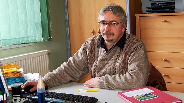 Jan Ryba, starosta Poustky.