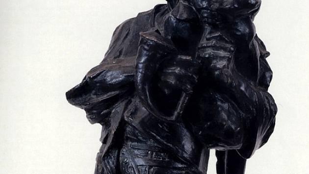Chebská Galerie výtvarných umění vystavuje práce moravského sochaře Franty Úprky