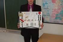 Přehlídka Středoškolských odborných činností v chebském gymnáziu