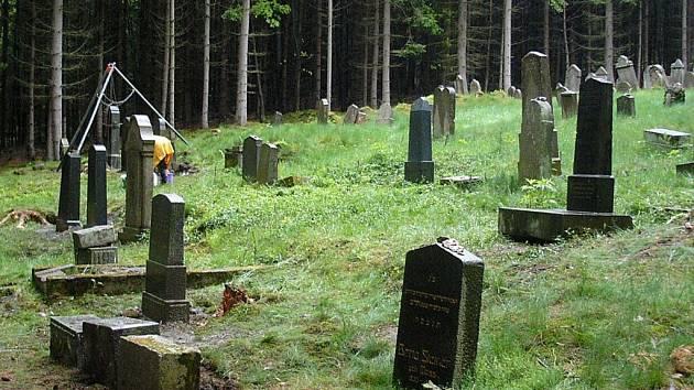 Židovský hřbitov v Drmoule na Mariánskolázeňsku