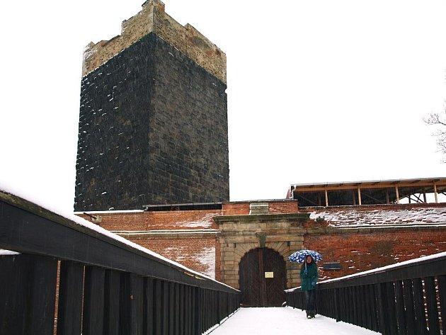 Chebský hrad. Ilustrační foto.