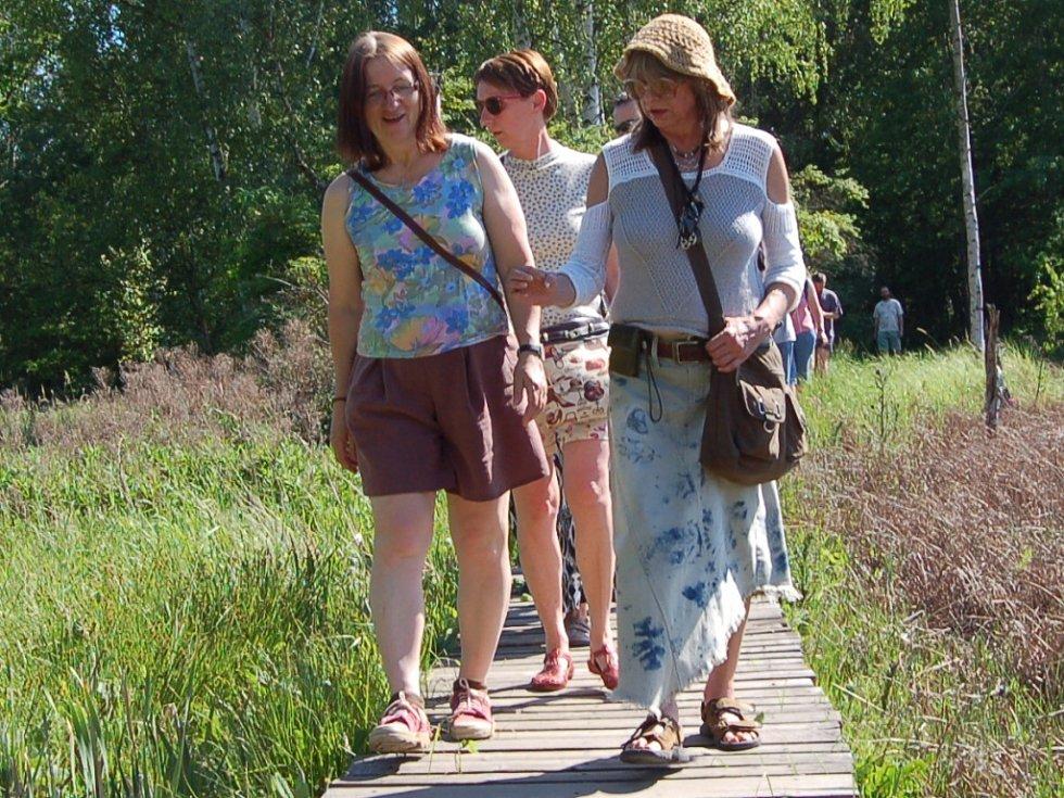 KOMENTOVANÁ prohlídka po rezervaci Soos se setkala s velkým zájmem milovníků přírody.