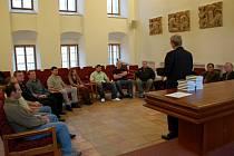 Ocenění nejlepších střelců na chebské radnici 28. října