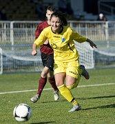 Eliška Trampuschová vystřílela proti Ervěnicím hattrick