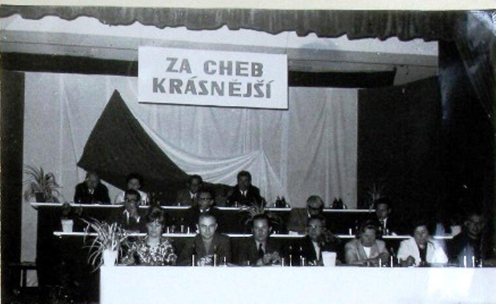 Historické fotografie z Chebu.