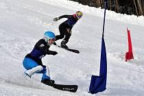 FIS Evropského poháru ve snowboardingu v paralelních disciplínách se konal v mariánskolázeňském Skiareálu