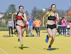 Chebská Zlatá dráha byla plná atletů