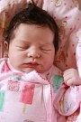 ISABELL RANGL přišla na svět ve čtvrtek 21. září v 7.16 hodin. Při narození vážila 3 550 gramů. Z malé Isabellky se těší doma v Plesné sestřička Tiffani spolu s maminkou Denisou a tatínkem Jaroslavem.