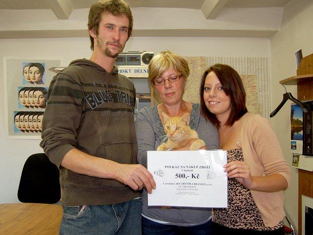 Výherci dalšího hlasování o nejhezčího mazlíčka si odnesli cenu z chebské redakce.