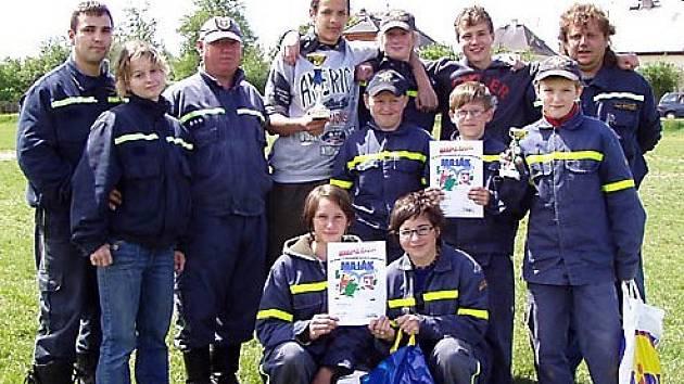 Družstvo starších žáků ze Skalné