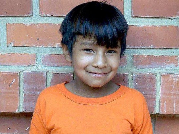 ALEXANDER Arroyo Daza, žák 3.třídy základní školy v Bolívii již jednou adoptován byl, jeho adoptivní rodiče jej však nemohou z důvodu finanční tísně již dále podporovat. Nyní se ho ujali studenti chebské zdravotnické školy.
