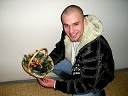 Pavel Šimice, autor receptu na houbovou tlačenku