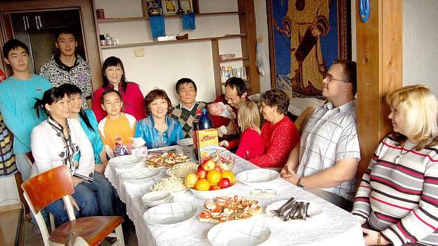 Projekt Rodina Odvedle. Pravidelně se ho účastní také rodiny na Chebsku.
