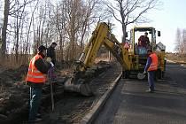 Rekonstrukce chodníků je největší investiční akcí Hranic v posledních letech