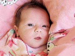 VANNESA BALOGOVÁ se poprvé rozkřičela v neděli 15. června v 18.30 hodin. Při narození vážila 3 080 gramů a měřila 49 centimetrů. Maminka Adéla a tatínek Ivan se těší z malé Vannesky doma v Mariánských Lázních.