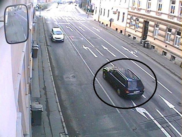policie hledá svědky z vozidla Audi