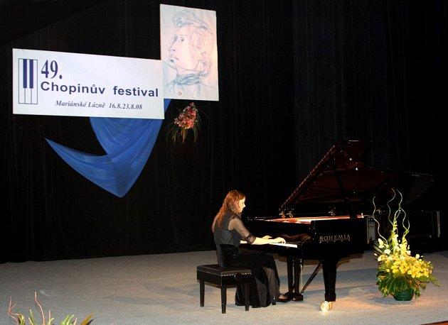 49. ročník Chopinova festivalu v Mariánských Lázních - Christiane Klonz