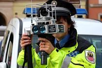 Radar chebské městské policie