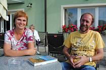 Manželé Eva a Ladoslav Pleskotovi se díky Deníky vypravili na Chebsko