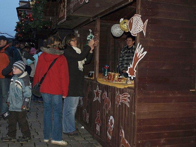 Vánoční trhy v Chebu.