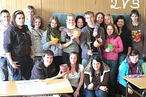 Studenti Integrované střední školy Cheb.
