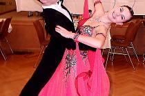 ÚSPĚCH TANEČNÍKŮ. Pár Daniel Raffa a Kateřina Janeková zcela ovládl mezinárodní soutěž Euroregionu.