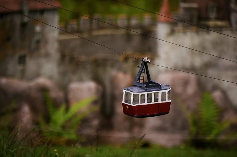 Z parku miniatur. Foto: Bohuslava Mayová