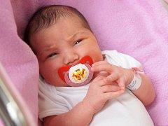ADÉLA LOMŇANČÍKOVÁ bude mít v rodném listu datum narození pátek 23. října v 8.22 hodin. Při narození vážila 3 550 gramů a měřila 50 centimetrů. Z malé Adélky se raduje doma v Chebu maminka Martina a s ní celá rodina.